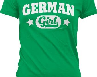German Girl Juniors T-shirt, NOFO_00986