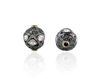 SDC-1265  Bead Diamond Charm
