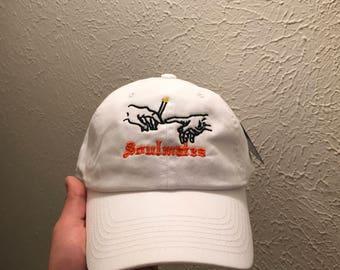 Soul Mates Embroidered Dad Hat Strapback Cap