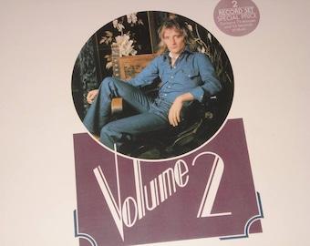 Rod Stewart record album, The Best Of Rod Stewart Vol 2, vintage vinyl record