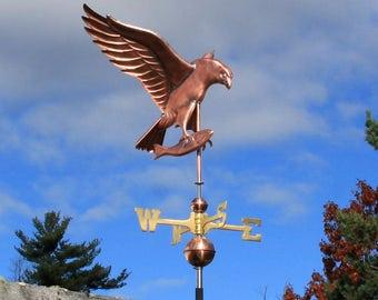 Copper Osprey Weathervane - BH-WS-517
