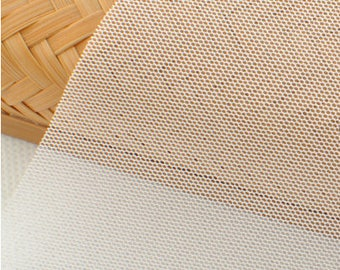 "White Mesh Fabric - 19.5"" x 54"" MT022"