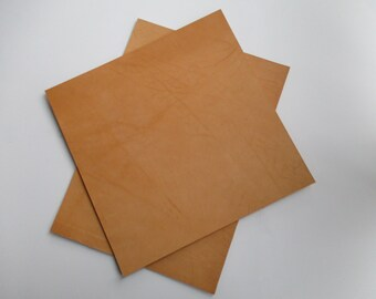 3mm / 7,5-8 oz Precut Pieces Veg Tanned Tooling Leather Leathercraft (Various Sizes.)