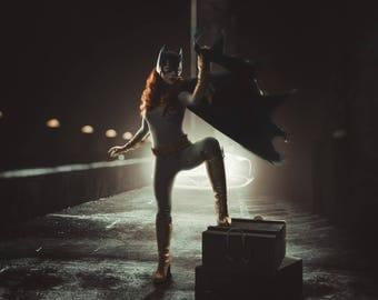 Batgirl cosplay print