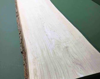 Hard Maple Natural Edge Slab