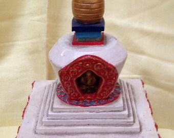 Buddhist Stupa wodden