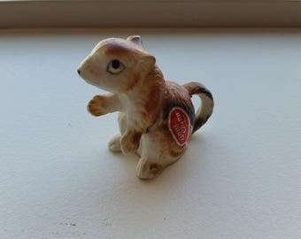 Miniature Chipmunk Figure