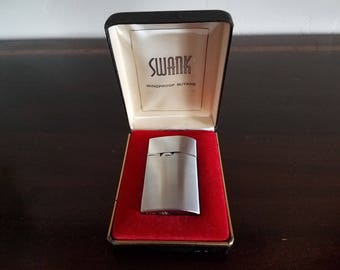 Swank Silver Tone Lighter - Never Used