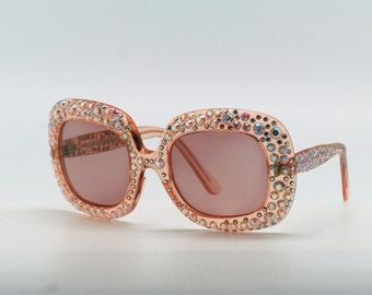 Jean Lonvert glasses rhinestones