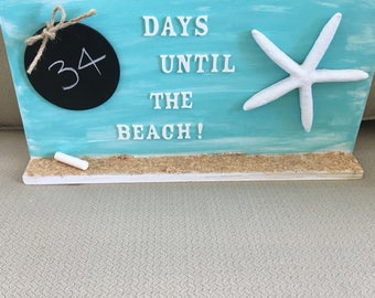 Days Until The Beach Countdown