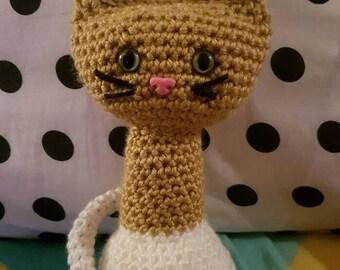 Handmade Crochet Kitty