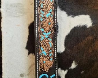 Custom tooled belt