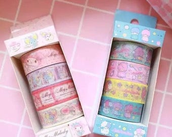Little twin stars or my melody washi tape