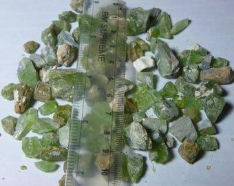138 gram 100% natural olivine peridot rough crystal from Pakistan