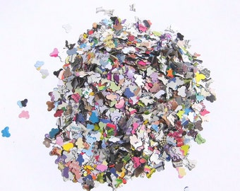 Confetti Butterflies Kunterbunt paper confetti Confetti colourful confetti butterfly wedding confetti Wedding Throw Confetti