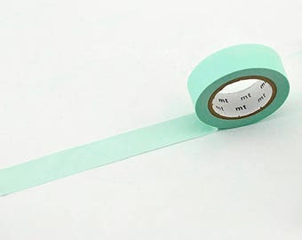 Pale Green MT Washi Tape, Masking Tape, Japanese washi, Tape from Japan, Planner Tape, Deco Tape