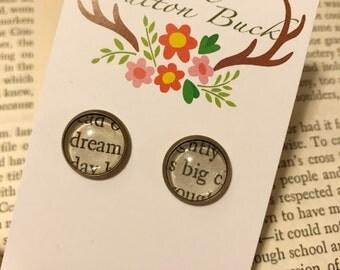 Dream big earrings