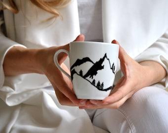 Coffee mug MOUNTAINS 350 ml