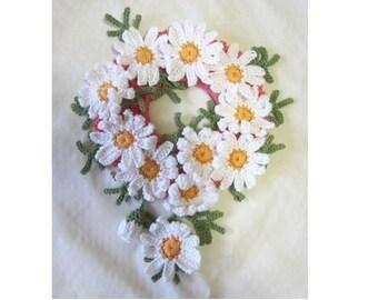 Cute Ponytail Holder Scrunchie Handmade Crochet for party, wedding, gift