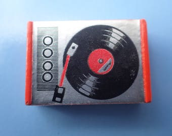 Vintage Original Lundby of Sweden Record Player 1970s. Dollhouse LP player in very good condition!