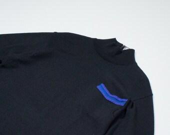 GIANNI VERSACE - black wool sweater