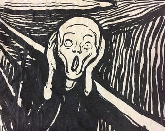 Vintage 90s Edvard Munch (The scream)