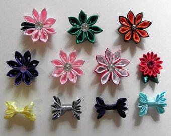 Handmade Kanzashi Flower