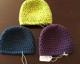 Baby Beanies Full Length, Baby Hats,