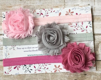 Baby Headband Set/Headband Set/Headband Gift Set/Baby Headbands/Baby Girl Headbands/Newborn Headbands/Baby Bows/Baby Shower Gift,Baby Gift