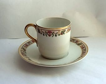 Antique B & Co. Limoges France Chocolate Cup Tea Cup L. Bernardaud Co.
