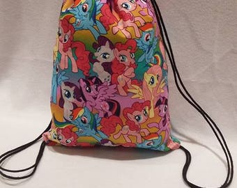 My Little Pony Drawstring Backpack