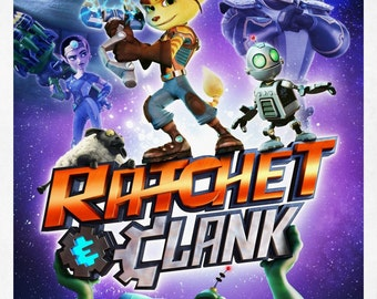 Ratchet & Clank 11x17 Promo Movie Poster