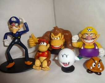 Mister A Gift SUPER MARIO BADDIE Characters cake toppers 6 figures