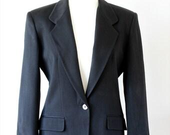 Liz Claiborne Wool Mixed Blazer US Size 8 - UK 12