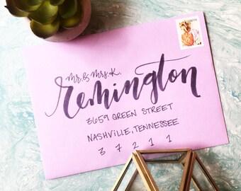 Wedding Calligraphy, Wedding Envelope Calligraphy, Wedding Envelope Addressing, Envelope Addressing, Wedding Envelope Lettering