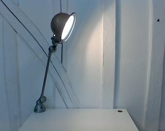 Industrial vintage JIELDÉ lamp.
