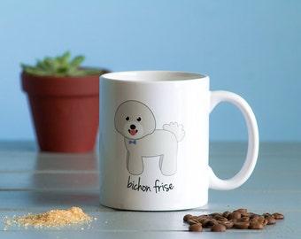 Bichon Frise Mug (boy)