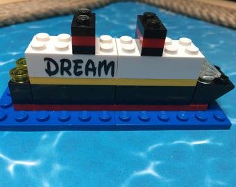 Cruise Ship ~  LEGO ~ Fantasy ~ Wonder ~ Dream ~ Magic