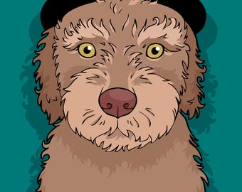 Custom Pet Portrait - custom pet portrait