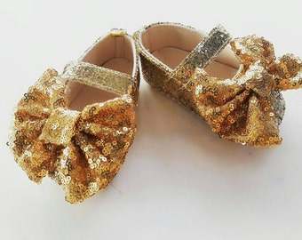 Sparkle baby shoes, glitter baby shoes, mary jane shoes, baby girl shoes, girls party shoes, 1st birthday shoes