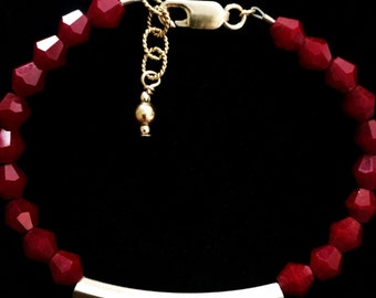Simple Statement Bracelet