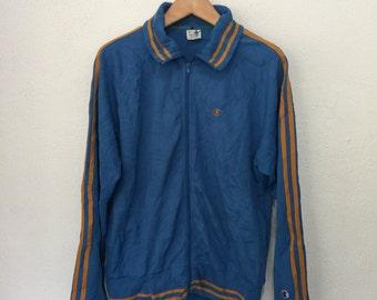 Vintage Champion Sportswear Track Top Trainers Jacket