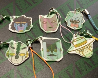NEW JJBA DIU Stand Cellphone Charms