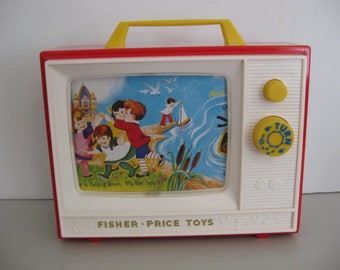FISHER PRICE TOY -  Giant Screen Music box