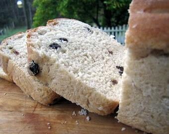 Crazy for Raisins Bread, Raisin Bread, Loaf Bread