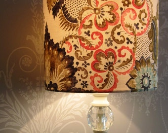 Handmade Lampshade V&A Garthwaite Damask - Last one! **HALF PRICE**DISCONTINUED**