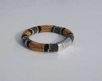 "Bracelet ""Coral Snake"" +Ring Gratis!"