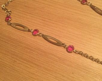 Vintage Park Lane Long chain necklace