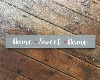 Home Sweet Home | Wood Sign | Rustic Wooden Sign | Home Décor