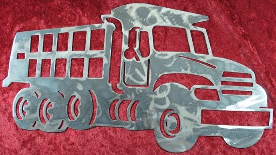 Dump Truck style 2, Truck Driver, Heavy Equipment, Truck Operator, Heavy Equipment Operator, Metal Dump Truck, Metal Decor, Metal Wall Art
